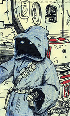 Post-It Note: Jawa & R5-D4