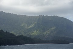 view of na pali coast from princeville (bmevans80) Tags: northshore napali hanaleibay
