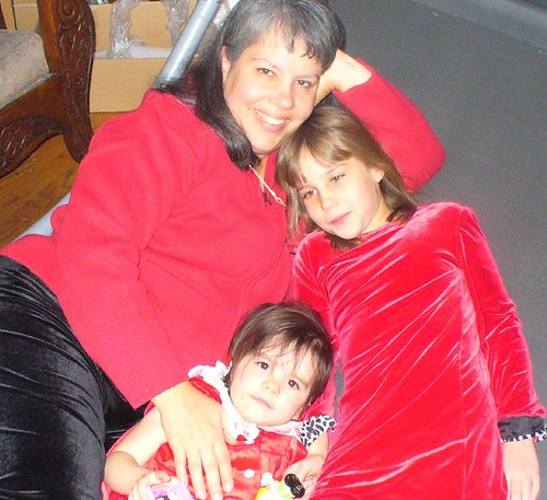 My daughters at Christmas