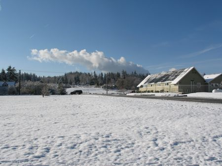 Winter in Langley