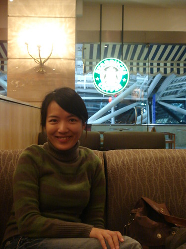 到埃及最開心的時候,就是在開羅機場發現Starbucks!!