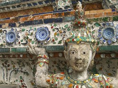 Wise Faces at Wat Arun