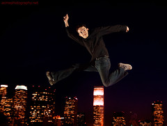 ShalerJump - Brian Jumping over Los Angeles Downtown - California (ACME-Nollmeyer) Tags: california skyline night marketing la flying losangeles jump jumping downtown brian nighttime howto editorial pr branding commerical nollmeyer shaler strobist shalerjump brianshaler acmephotographynet jumpphotography