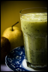 juice (eatzycath) Tags: green shadows pear kiwi foodphotography fruitjuice nikond200 18200mmf3556gvr colorphotoaward slwcheers