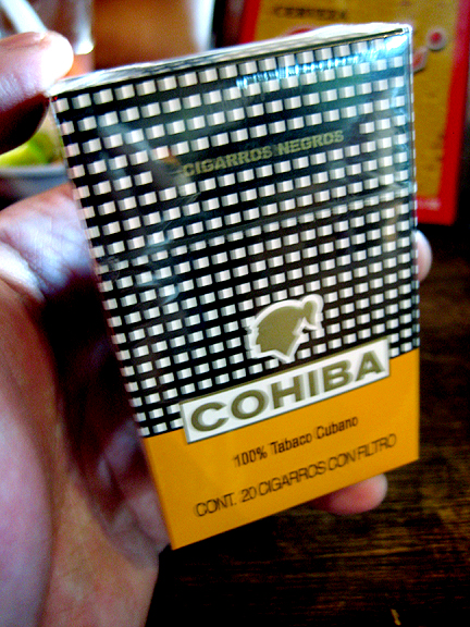 Cohiba Cigarettes - Made in Cuba
