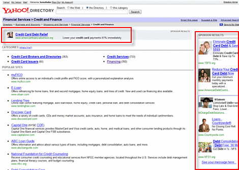 Yahoo Serving Images in Sponsored Search Listings