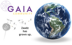 w00t! Zaadz is now Gaia!