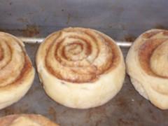 From Scratch Cinnamon rolls