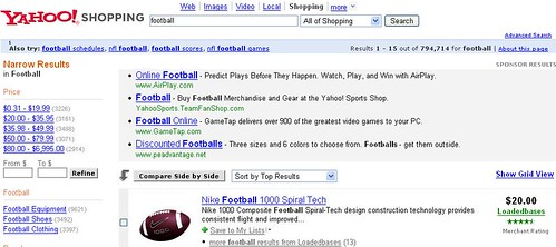 Yahoo! Shopping Football