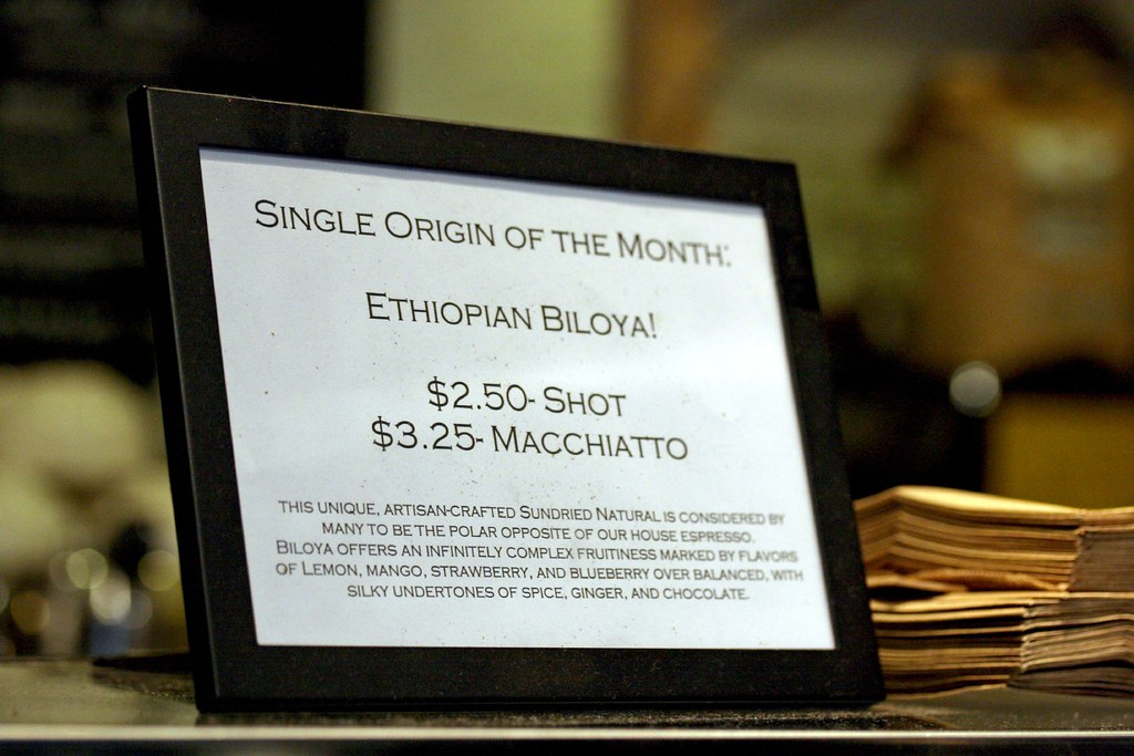 Single Origin of the Month