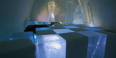 chess suite (gezzajax) Tags: blue snow cold art ice water architecture reindeer design bed sweden room chess freezing arctic e freeze lapland northern dogsledding kiruna icehotel arcticcircle blurb jukkasjrvi snowmobil torne reindeerskin rivertorne