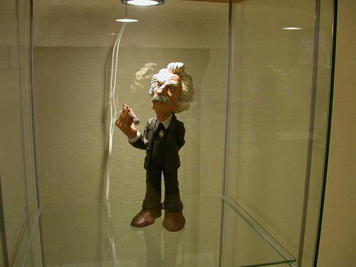 Will Vinton - Mark Twain figure