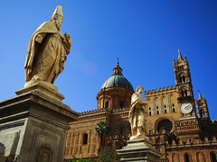 La cattedrale di Palermo (ToniZancle) Tags: sky interesting meeting explore cielo sicily duomo palermo azzurro sicilia arabi cattedrale feb25 normanni tonizancle flickrsicilia