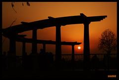 Sun set at Lake View Point