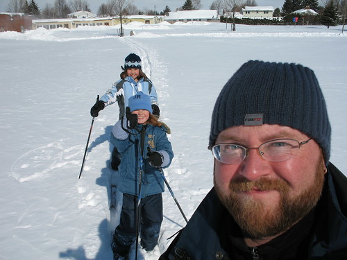 Ski to school