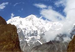 Diran Peak from Hunza