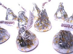 Hershey's Kisses Lemon White Chocolate I