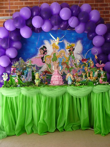 Pictures Of Tinkerbell Parties. Tinkerbell Party Decoration