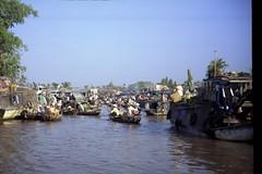 Floating Market, Mekong Delta, Vietnam (jaidecker) Tags: thailand zoo hostel asia cambodia scubadiving minds cameronhighlands teaplantation singapor angkorwatt salomonislands