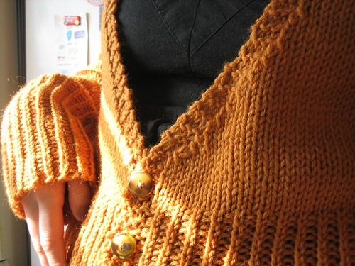 080406. american girl in europe cardigan.