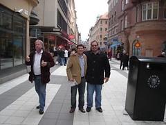 Con Pacheco en Estocolmo
