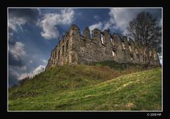 the ruins of a medieval castle (Mariusz Petelicki) Tags: castle ruins poland polska jura hdr zamek ruiny 3xp canon400d rabsztyn mariuszpetelicki