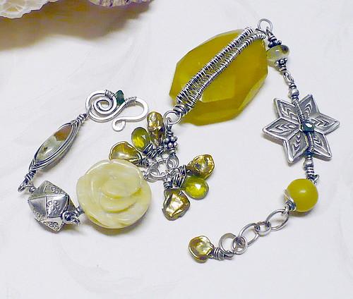 Greens of Spring Bracelet