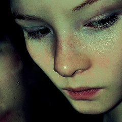 diamonds are 4ever, but they make me cry (bye bye ) Tags: fiction selfportrait reflection colors closeup glitter diamonds sadness mirror alone loneliness shadows darkness expression lies crying thoughtful makeup story thoughts thinking depression expressive cropped depressed lonely emotional tear lying waterdrops stories 2008 emotions cries emotive feelings coldness weteyebrows