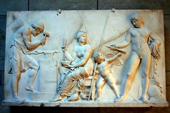 Glyptothek, Mnchen - Greek and Roman Sculpture (oriana.italy) Tags: sculpture art history germany mnchen deutschland ancient relief antico glyptothek bassorilievo greekandromansculpture orianaitaly