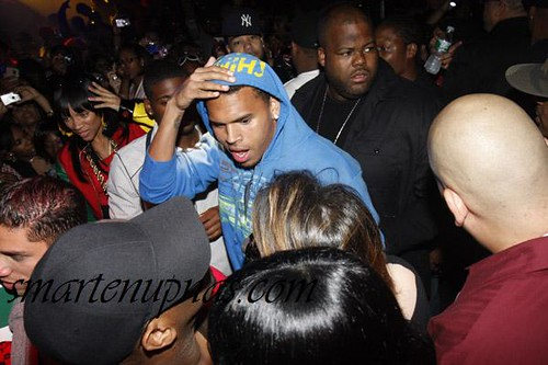 chris brown 19th birthday party
