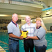 Inland Scuba receives portable defibrillator 5/22/2008