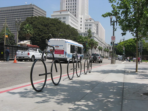 bike or bus downtown