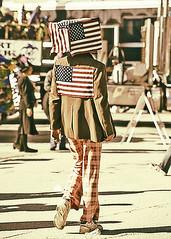 untitled (kathyp.) Tags: 2002 photoshop costume flag patriotic odd plaid