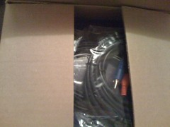 Roku Netflix Player & Cables Packaging