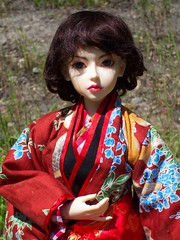 May in her kimono (betsyowl) Tags: dolls may bjd