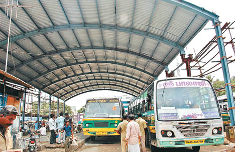 Image result for chathiram bus stand trichy