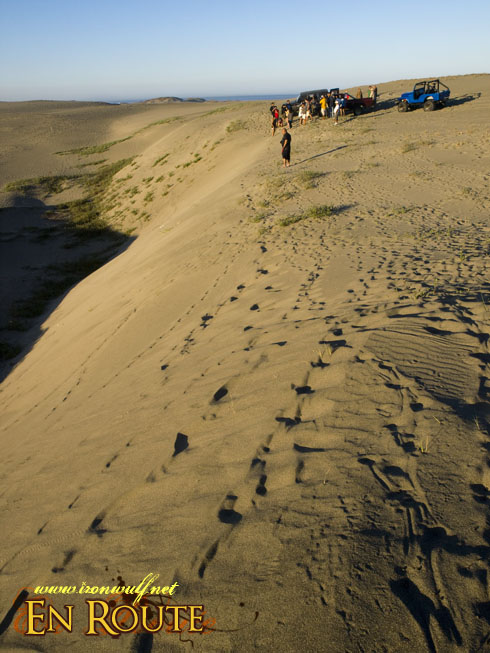 Lakbay Norte Sandboarding drop