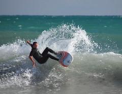 Yanchep surfing (strangest tribe 48) Tags: ocean beach surf wave boogieboard bodyboard