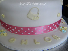 Chloe's starburst 'hat' cake - closeup (Mrs P's Patisserie) Tags: food cakes up hat cake cupcakes baking close tea celebration patisserie novelty starbust