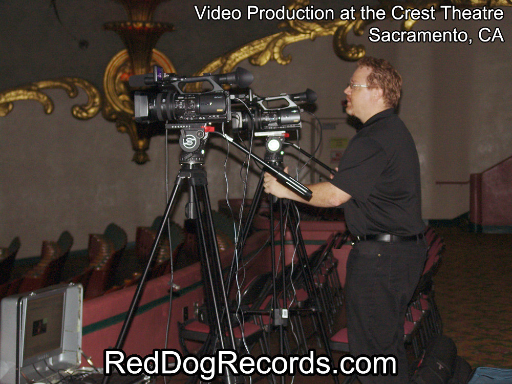 Video Production at the Crest Theatre Sacramento