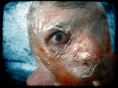 What Man Creates (john_bolin2002) Tags: halloween me strange scary blood sweden evil plastic medical horror terror halmstad selfshot halland