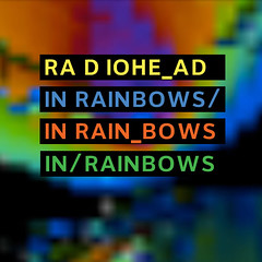 radiohead in rainbows (fake cover art)