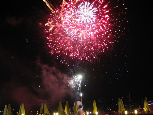 Cannes Fireworks