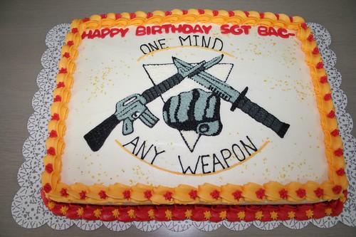 USMC Martial Arts Cake