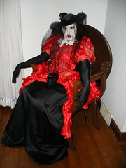 My cousin the vampiress