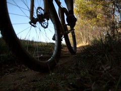Single Speed Mountain biking at Schaeffer Farm