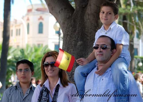 familia visita del Rey