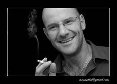 Volker (zane) Tags: portrait bw cigarette
