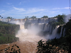 Iguaz Falls (Phillie Casablanca) Tags: travel southamerica argentina waterfall adventure waterfalls tropics iguazufalls adventuretravel puertoiguazu roundtheworldtrip cataratasdeliguaz puertoiguaz parquenacionaliguaz