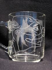 Dragon Clown on cup